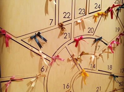 Advent calendar for Lamp harajuku